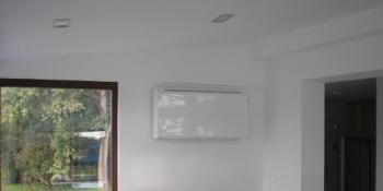 Zidni isušivač vazduha, model  300-S, boja siva