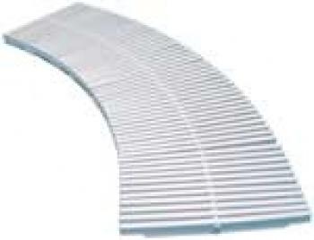 Prelivne rešetke PP, širina 125 mm, H=22mm