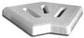 Ugaoni elementi 45', širina 195 мм, Н=22 mm