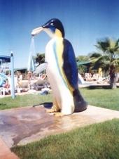 Animirani tuš PINGVIN sa jednim vodotokom