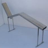 Kreveti za masažu, jednokrevetni 150mm, za betonski