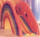 Dečiji tobogan MINIRAINBOW, Н=115 cm, fiberglas