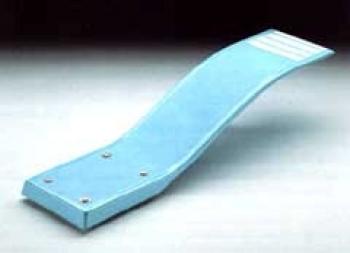Odskočna daska, fiberglas 160 cm, plava. Set sa instalacionim sidrom