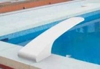Odskočna daska, fiberglas LUX 200cm, Set