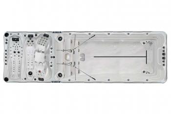 Bazen GOLF 1000x400cm, ojačana termoizolaciona konstrukcija