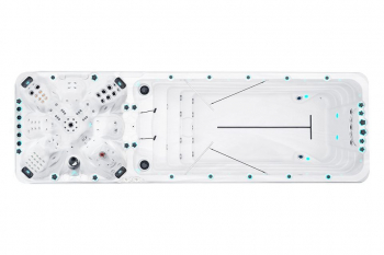 Bazen LAGUNA 600x400cm, standardna konstrukcija