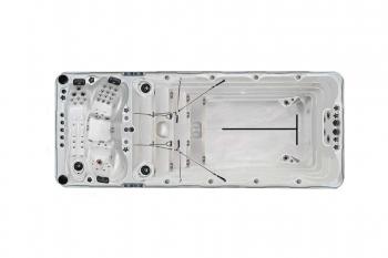 Bazen LAGUNA 900x400cm, standardna konstrukcija