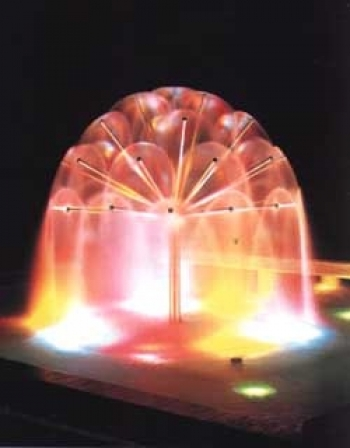 Fontana GALAXY HEMISPHERE, d=150 cm, 61 ruku