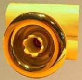 Vodeni mlaz CAPRI. konekcija d=32mm. boja- BELA