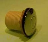 Pneumatsko dugme VENEZIA. Konekcija- cevi SHL-3. Boja- HROM