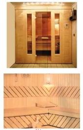 Finska sauna Sawo Vtype