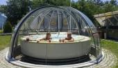 Prekrivka za bazen Kupola