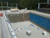 izolacija i mozaik keramika u bazenu