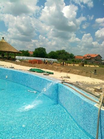 punjenje bazena vodom