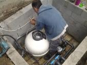 shta sa filterom i pumpom za filtraciju vode u bazenu