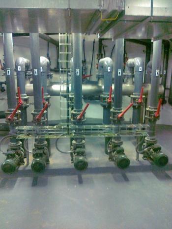 Cirkulacione pumpe za javne bazene