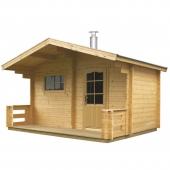 Sauna za dvoriste